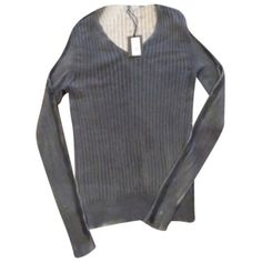 Pre-owned Avant Toi Sweater (345 CAD) ❤ liked on Polyvore featuring tops, sweaters and avant toi