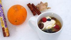 Appelsintoddy med rømme og sjokolade Cold Drinks, Milkshake, Pudding, Desserts, Food, Cool Drinks, Shake, Meal, Milkshakes