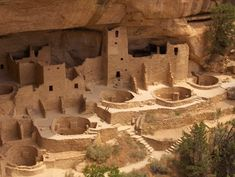One of my favorite places I've ever been ... Anasazi Ruins, Mesa Verde National Park, Colorado >> I agree! I am so going to bring my husband when we visit my sister in Denver!