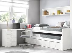 Room Design Bedroom, Kids Bedroom Designs, Bunk Bed Designs, Bedroom Furniture Design, Room Ideas Bedroom, Small Room Bedroom, Kids Room Design, Home Decor Furniture, Small Girls Bedrooms