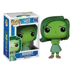 This Inside Out Disgust Disney-Pixar Pop! Vinyl Figure features the easily revolted side of Riley Anderson as the emotion voiced by Mindy Kaling and is approximately 3 3/4-inches tall. Disney Pixar's Inside Out animation is the story of a young girl who is ruled by her emotions, and the growing pains she encounters. The story is told from the perspective of the emotions inside her mind. #nesteduniverse