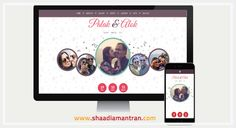 How to Create A Wedding Website That Totally Fits Your Personality! Click here - > http://shaadiamantran.com