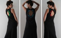 LED-embedded fashion enables wearers to change the garments' color