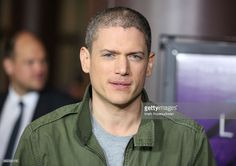 Actor Wentworth Miller attends the screening of Open Road Films' 'The Loft' at Directors Guild Of America on January 27, 2015 in Los Angeles, California.