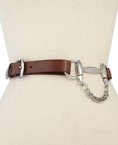 Lauren Ralph Lauren Belt, Equestrian - Belts - Handbags & Accessories - Macy's