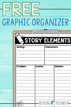 Students can practice retelling stories with these FREE printable graphic organizers. They can use the reading graphic organizer as a way to practice a 5 finger retell during independent reading or guided reading groups. The writing graphic organizer helps students plan out the story elements when creating their own story during writng workshop. Writing Graphic Organizers, Guided Reading Groups, Free Stories, Independent Reading, Story Elements, Writer Workshop, Elementary Teacher, Retelling, Teacher Resources