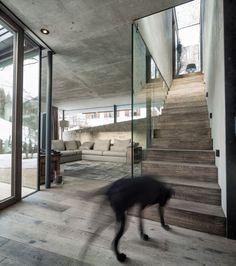 Дизайн проект частного загородного дома в Австрии
