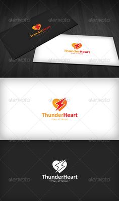 Thunder Heart Logo #GraphicRiver Thunder Heart Logo is a designed for Any types of companies. It is made by simple shapes Although looks very professional. The final file includes 3 variations of the Logo. Featured: Unique Slogan AI CS3 Document EPS CS Document CMYK – 100 % Vector (Re-sizable) 3 Variations (Color, B/W & Inverts) The free fonts used: Free font Use. Link include Download File. Created: 26October12 GraphicsFilesIncluded: VectorEPS #AIIllustrator Layered: Yes…