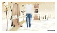 """Untitled #27"" by bad-wolf-18 ❤ liked on Polyvore featuring H&M, Splendid, Yves Saint Laurent, Loro Piana, Burberry and MANGO"