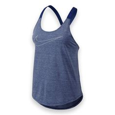 Nike Elastika Keyhole Tank New Nike Elastika Keyhole Tank, loose fitting with Elastic back straps that cross & have an adjustable keyhole. Polyester/spandex-this tank is soft and silky!  NWT Nike Tops Tank Tops