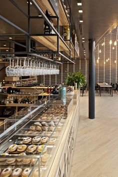Bakery design, restaurant design, restaurant bar, restaurant exterior, shop i Bakery Shop Design, Coffee Shop Design, Cafe Design, Patisserie Design, Design Design, Bakery Interior, Restaurant Interior Design, Shop Interior Design, Restaurant Exterior
