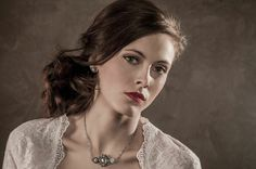 Gill Clements Necklace. #hair #beauty #bridal #bride