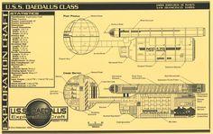 Starfleet Exploration Craft - Daedalus Class - NCC-170
