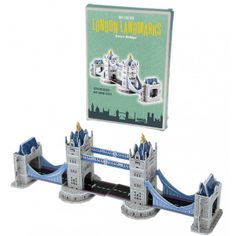 Tower bridge has been a feature of the Thames since 1892 and is now a iconic symbol of London. Make your own London landmark with this Tower Bridge cardboard model kit.