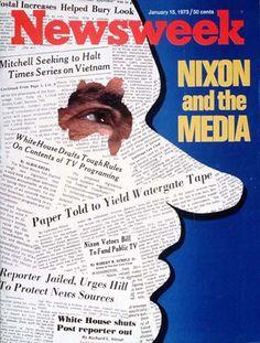 15 de enero de 1973 - Revista Newsweek (EEUU): Nixon y los medios.