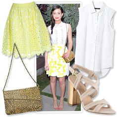 Look of the Day photo   OUTFIT 8: The Floral Skirt