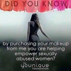 The Younique Foundation: http://www.youniqueproducts.com/Christinatreadwell