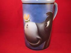 "EEYORE Winnie the Pooh The Walt Disney Company Coffee Cup Mug  5.50"" Tall"