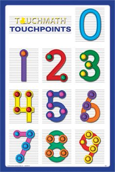 Printables Free Touch Math Worksheets one of the ways we learn to add and subtract in our classroom i called this dot math it made adding easy stopped counting on my