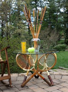 how to make a tennis racket at home