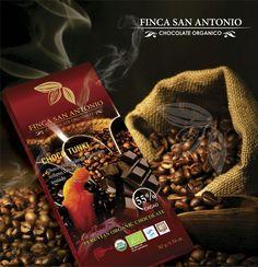 Dis productos Bandera se unen para generar una pasión y causar tu felicidad #CHOCOTUNKI #ChocolateOrgani #FairTrade #BeanToBar #FincaSanAntonio #Amazonic