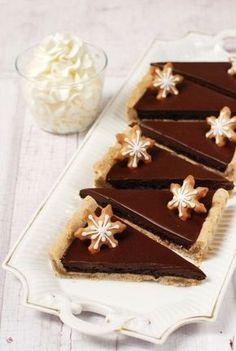 Szilvalekváros-csokoládés pite recept - Kifőztük, online gasztromagazin Hungarian Recipes, Hungarian Food, Creative Cakes, Sweet Life, Cookie Recipes, Food And Drink, Pudding, Pie, Cookies