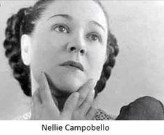 Escritora y bailarina mexicana Nellie Campobello