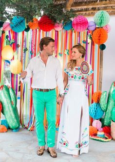 Colorful Pre-Wedding Mexican Fiesta in Greece: Part 1 - Fiesta pre-wedding party Source by - Mexican Birthday Parties, Mexican Fiesta Party, Fiesta Theme Party, Pre Wedding Party, Wedding Parties, Mexican Bridal Showers, Fiesta Outfit, Fiesta Dress, Mexican Themed Weddings