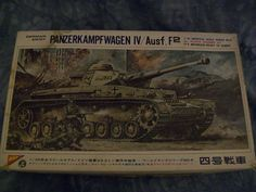 1970's Nichimo 1/35 Scale Panzerkampfwagen IV Ausf f2 MOTORIZED by MyHillbillyWays on Etsy