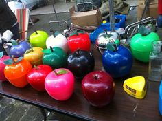 Pommes à glaçons de toutes les couleurs ♥♥♥