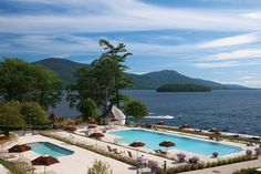 The Sagamore Resort offers some of the best options for Adirondacks vacation activities. Take a look at what one of the premier Bolton Landing hotels has to offer. Hotels And Resorts, Best Hotels, Weekend Getaways From Nyc, Bolton Landing, Lake George Village, Summer Vacation Spots, Cool Swimming Pools, Lakefront Property
