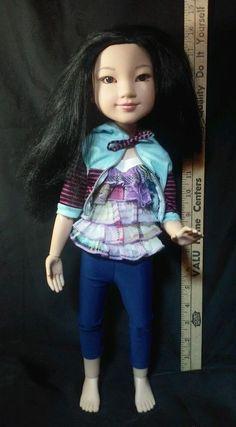 "Very Rare 2009 BFC Best Friends Club Yuko Asian Doll 18"" Tall Original Clothing #DollswithClothingAccessories"
