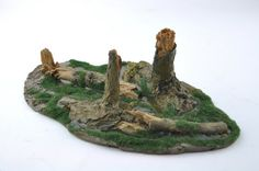 Swamp Marsh Trees Stumps  Forest Resin Gameboard  by resinscenery