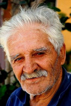 Greek man - faces of the people