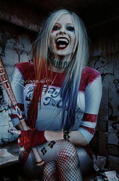 Avril Lavigne en tant que Harley Quinn par FreeError sur DeviantArt Harley Quinn Halloween, Harley Quinn Comic, Joker And Harley, Avril Lavigne Style, Avril Lavigne Photos, Oprah Winfrey, Jennifer Lopez, Pop Punk, Princesa Punk