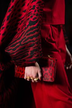 The Valentino all red 'Shanghai Collection'