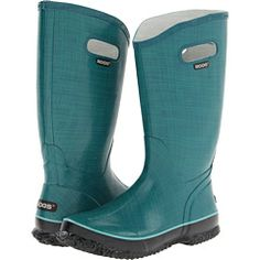 Bogs Linen Rainboot - Great for getting around in Portland's wet weather :) Mud Boots, Wet Weather, Dress Me Up, Hunter Boots, Rubber Rain Boots, Thrifting, Style Me, Style Inspiration, How To Wear