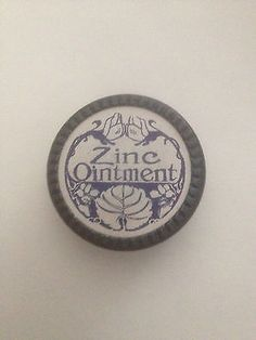 Original-Retail-Drug-Store-1900-ZINC-OINTMENT-Tin-Never-Filled