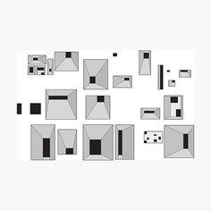 Lámina fotográfica «Windows Le Corbusier Notre Dame du Haut Ronchamp» de designnerd | Redbubble Social Housing Architecture, Architecture Mapping, Education Architecture, Chinese Architecture, Architecture Drawings, Futuristic Architecture, Interior Architecture, Santiago Calatrava, Frank Gehry