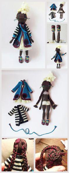 How to Make Amigurumi Dolls #amigurumi #amigurumipattern #crochettutorial #crochetaddict #crochettoy #knittingtoy #knitting