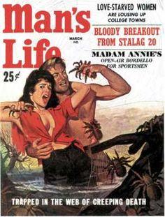 man's life magazine - Google Search