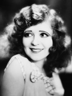 "As with Mary Pickford, I suppose I really should have just created an entire board called ""Clara Bow."""