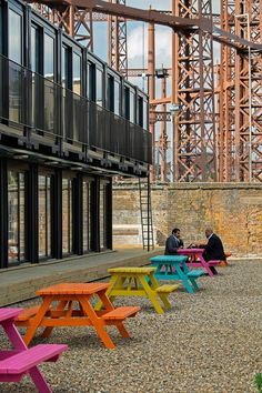 ContainerVille at Regent' Canal. Image © estateoffice.