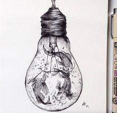 http://www.fubiz.net/en/2016/03/30/poetic-surreal-black-ink-pen-illustrations/: