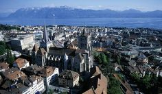 Reserve lake side vacation accommodation in Lausanne Switzerland. Lausanne tourist info and transport to book your hotel accommodation or holiday in the city of Lausanne. Lausanne, Tourist Info, French Alps, Lake Geneva, Once In A Lifetime, Canterbury, Family Travel, Places Ive Been, Paris Skyline