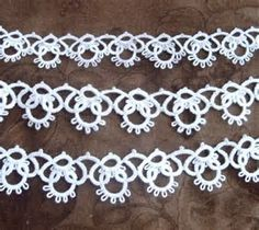 Image result for tatting patterns for beginners