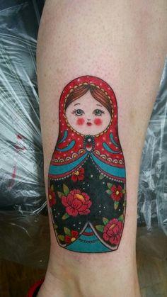 My Matryoshka tattoo - Artist Jessy D'Auria Ventura, Ca  Jessydtattoo.com