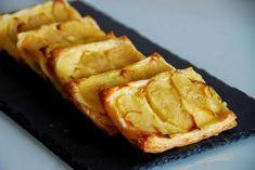 Prueba estas sensacionales pequeñas porciones de tarta de manzana.