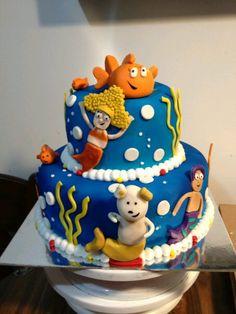 Bubble Guppies 1st birthday cake   Maci's 1st Birthday ...