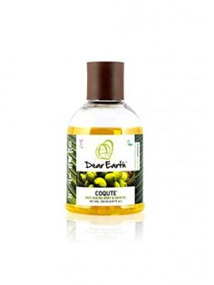 Dear Earth Coqute Body And Hair Oil - Skin conditions, moisturizes, softens skin Online Tea Store, Vegan Store, Chocolate Stores, Oils For Skin, Vegan Lifestyle, Hair Oil, Organic Recipes, Beauty Care, Free Food